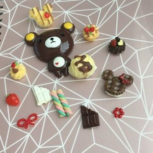 Accessories - Deco kawaii cute sweet tooth decorations chocolate